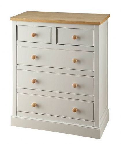 Toulouse Grey 3+2 Chest of Drawers